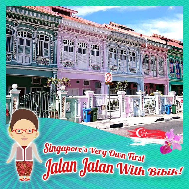 Jalan Katong with Bibik (Peranakan) – Saturday