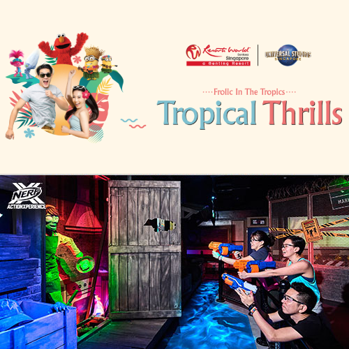 Universal Studios Singapore + Nerf Action Xperience [Child]