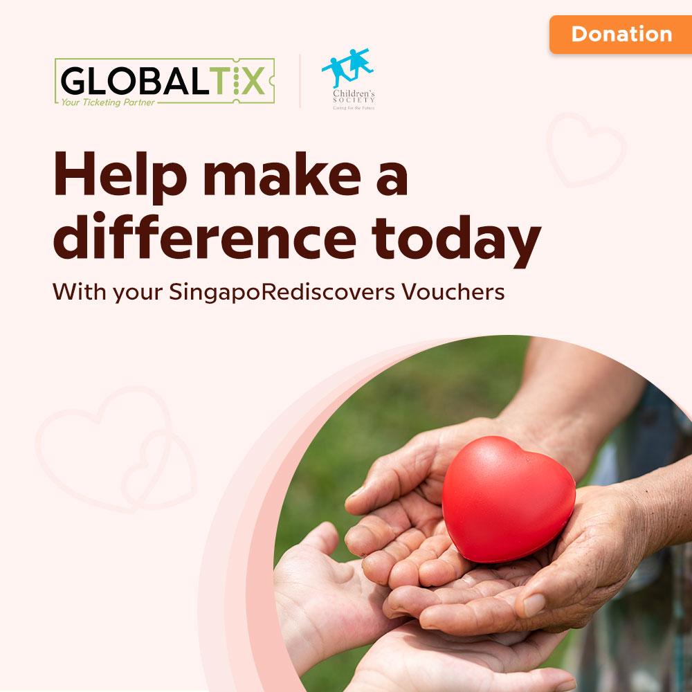 Donation to Singapore Children's Society