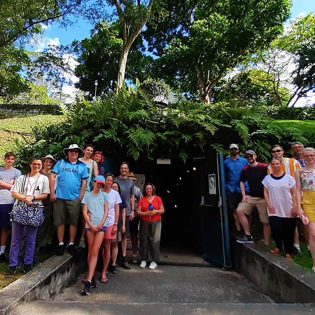 Of Graves, Guns & Battles™: A Tour of Battlebox & Fort Canning Hill