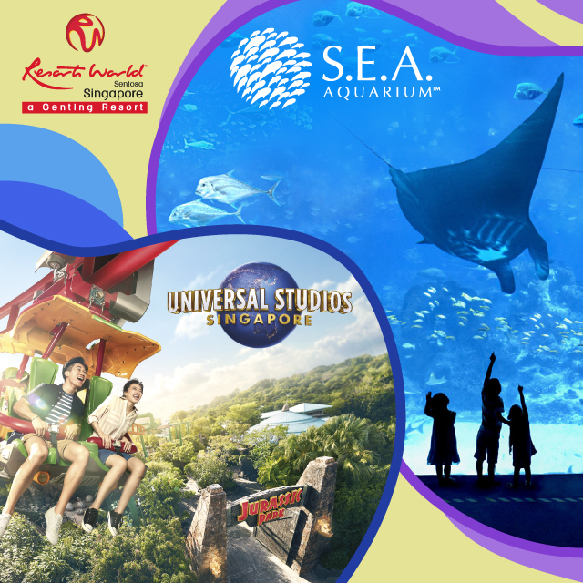 Daycation Package (Universal Studios Singapore + S.E.A. Aquarium™)