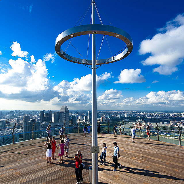 Marina Bay Sands - Sands SkyPark Observation Deck