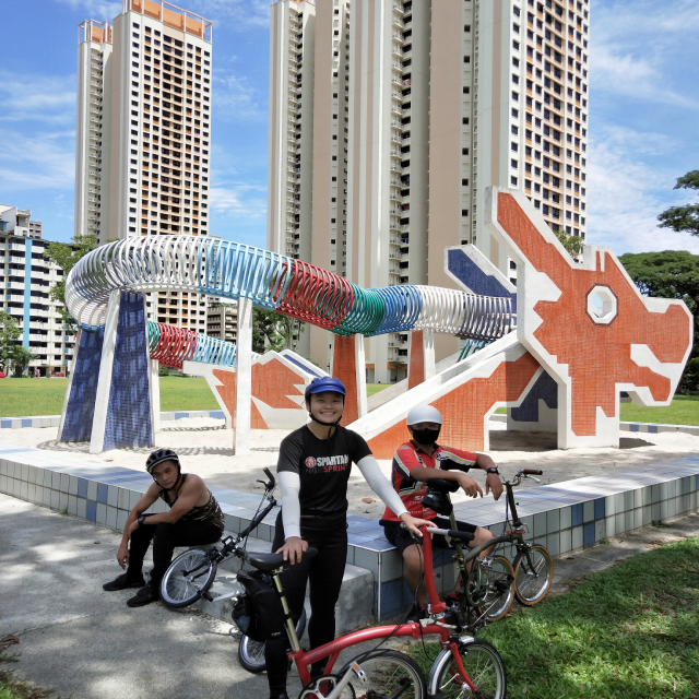 Brompton Bicycle Cycling Tour - Toa Payoh To Lower Peirce Reservoir