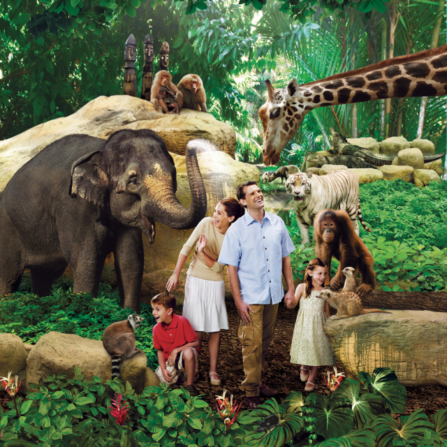 2-in-1 Park Admission (Singapore Zoo & River Safari)